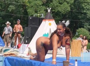 Beautiful naked native american women