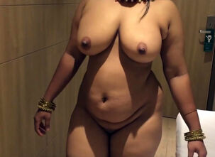 Busty wife naked