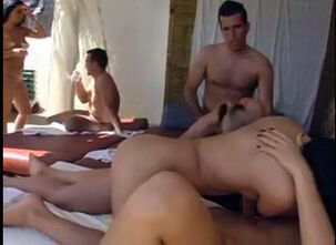 Swingers sex party movie